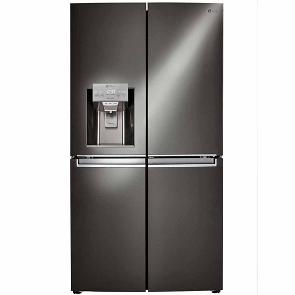 LG ENERGY STAR® 29.8 cu. ft. Smart Wi-Fi Enabled 4-Door French-Door Refrigerator