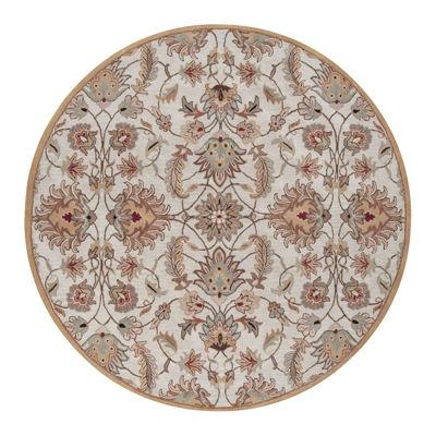 Decor 140 Cyrus Hand Tufted Round Indoor Rugs