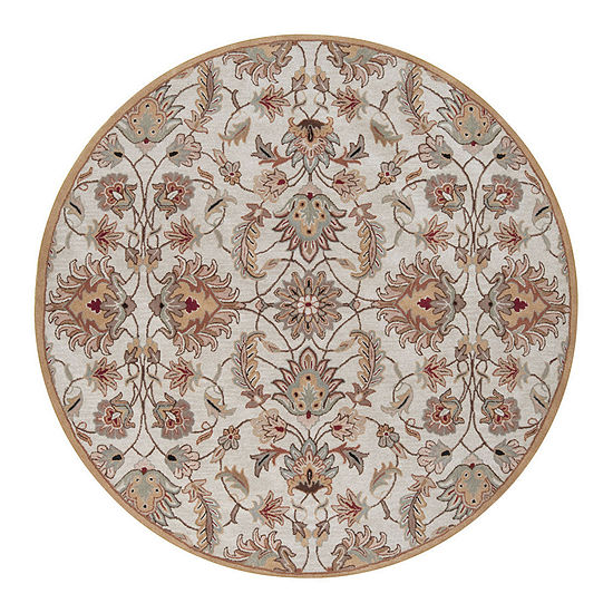 Decor 140 Cyrus Hand Tufted Round Indoor Rugs