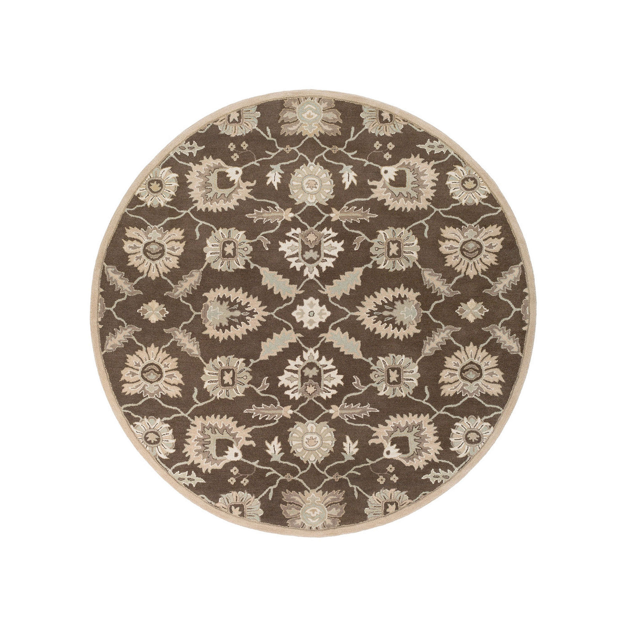 Decor 140 Eckbert Hand Tufted Round Rugs