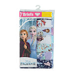 Little Girls 7 Pack Frozen Brief Panty