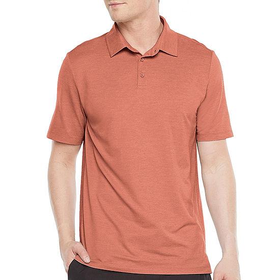 Stylus Mens Stretch Short Sleeve Polo Shirt
