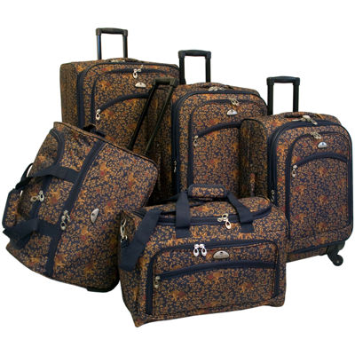 American Flyer Budapest 5-pc. Spinner Luggage Set