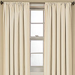 Eclipse Kendall Blackout Rod-Pocket Single Curtain Panel