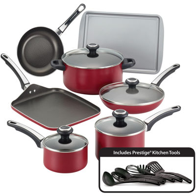 Farberware High Performance 17-pc. Nonstick Aluminum Cookware Set