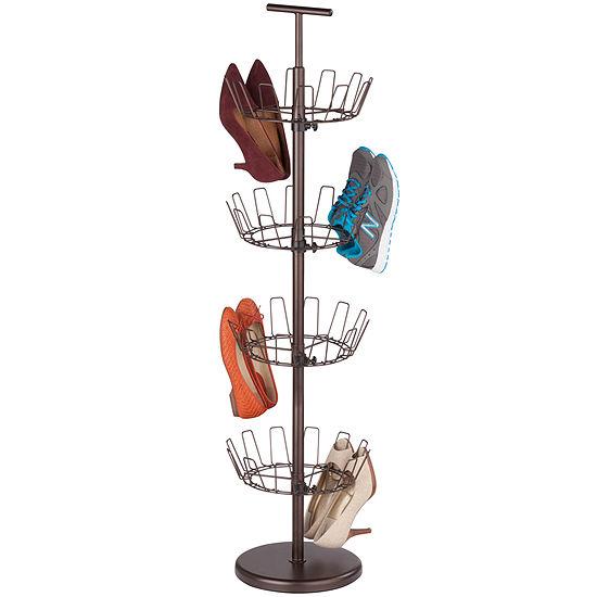 Honey-Can-Do® 4-Tier Revolving Shoe Tree