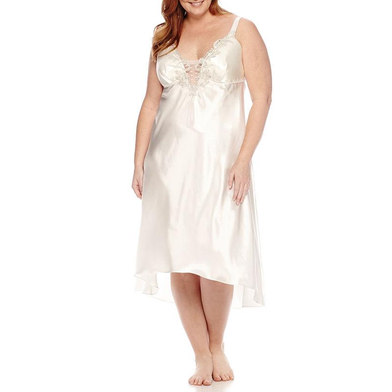 Flora Stella Charmeuse Nightgown - Plus plus size,  plus size fashion plus size appare