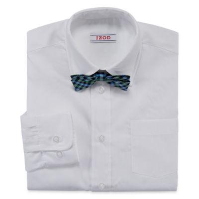 IZOD® Shirt and Clip-On Tie Set - Boys 8-20