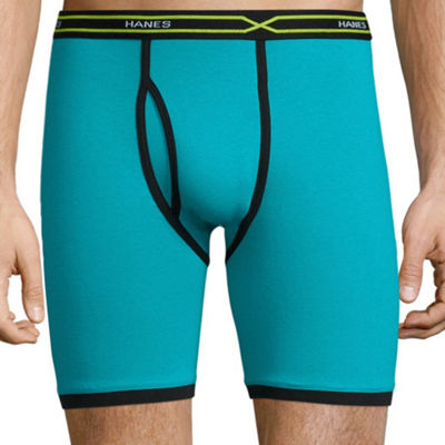 Hanes Men's X-Temp® Active FreshIQ™ Long Leg Boxer Brief 3-Pack