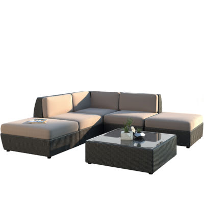 Seattle 6 Piece Chaise