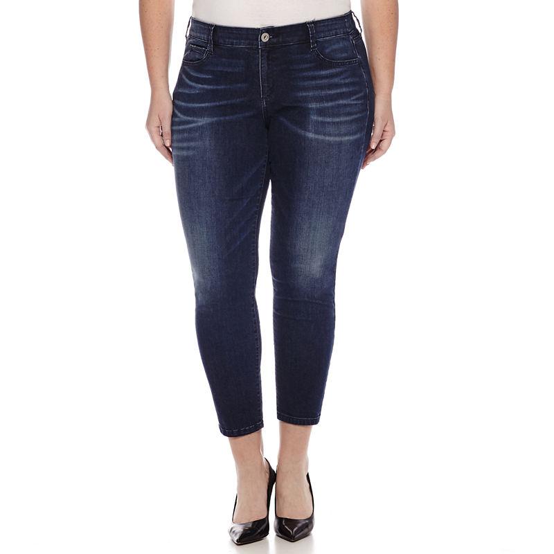 Arizona Jeggings-Juniors Plus plus size,  plus size fashion plus size appare