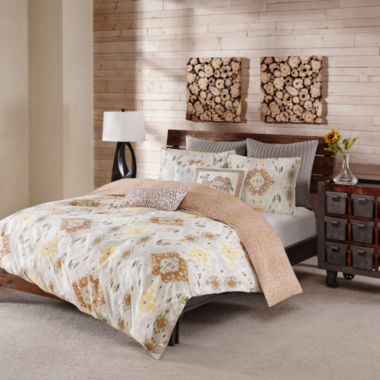 INK+IVY Nia 3-pc. Duvet Set