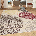 World Rug Gallery Toscano Medallion Rectangular Rugs