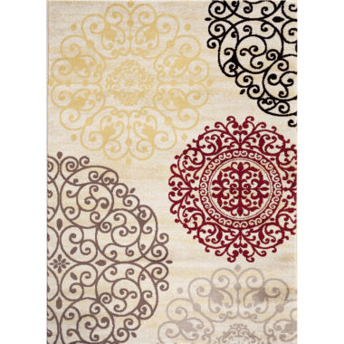 Toscano Medallion Rectangular Rug