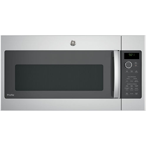 GE® Profile™ Series 2.1 cu. ft. Over-the-Range Sensor Microwave Oven