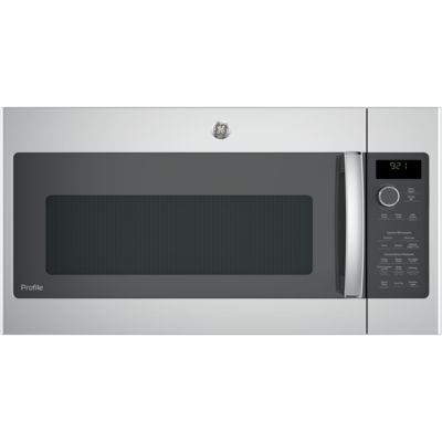 GE® Profile™ Series 2.1 cu. ft. Over-the-Range Sensor Microwave Oven