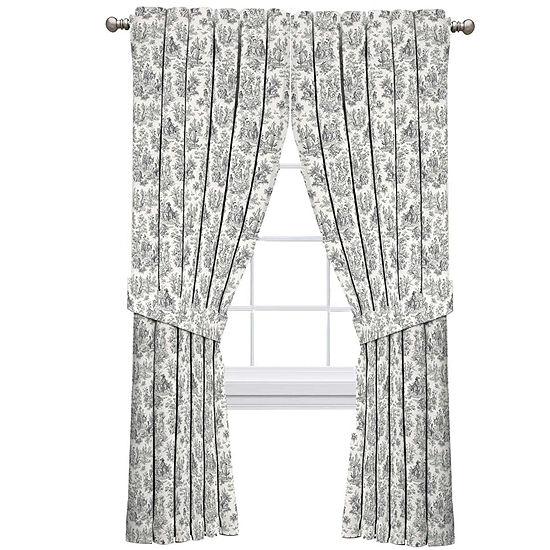 Waverly Waverly Charmed Life Light-Filtering Rod-Pocket Single Curtain Panel