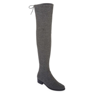 Style Charles Groove Womens Over the Knee Boots
