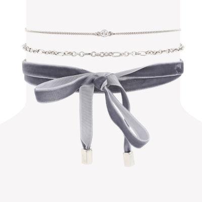 Decree Womens Choker Necklace