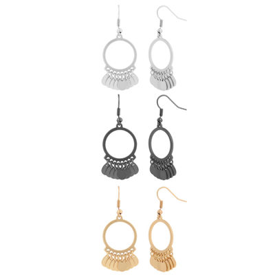 Decree 3-pc. Earring Set