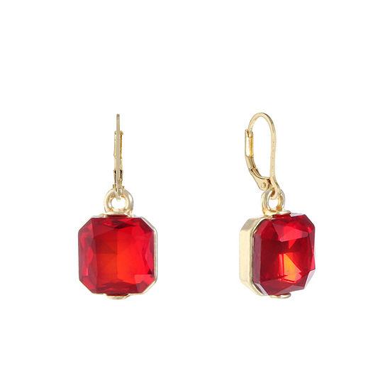 0566162bc0ecdb Monet Jewelry Red Drop Earrings - JCPenney