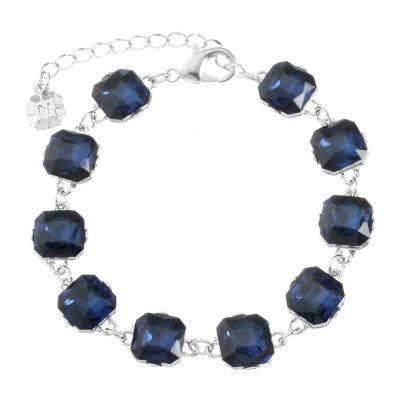 Monet Jewelry Womens Blue Chain Bracelet