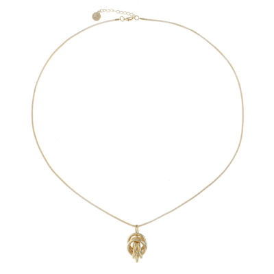 Liz Claiborne Womens Pendant Necklace