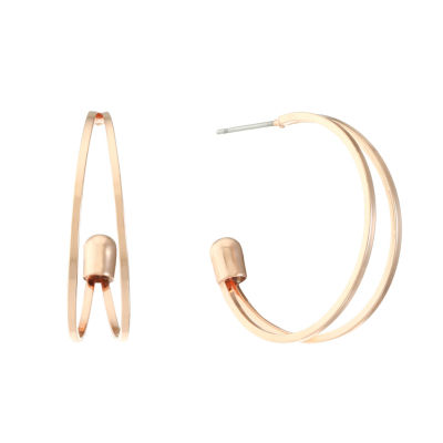 Liz Claiborne 31mm Hoop Earrings