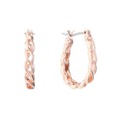 Liz Claiborne 15.6mm Hoop Earrings