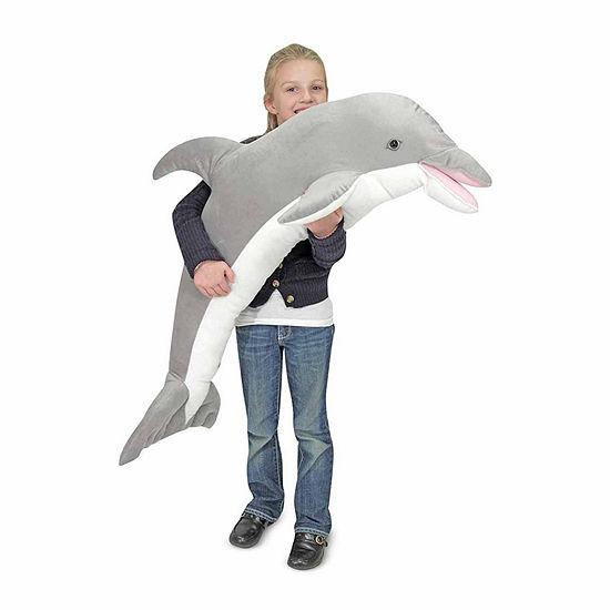 Melissa & Doug Dolphin Plush