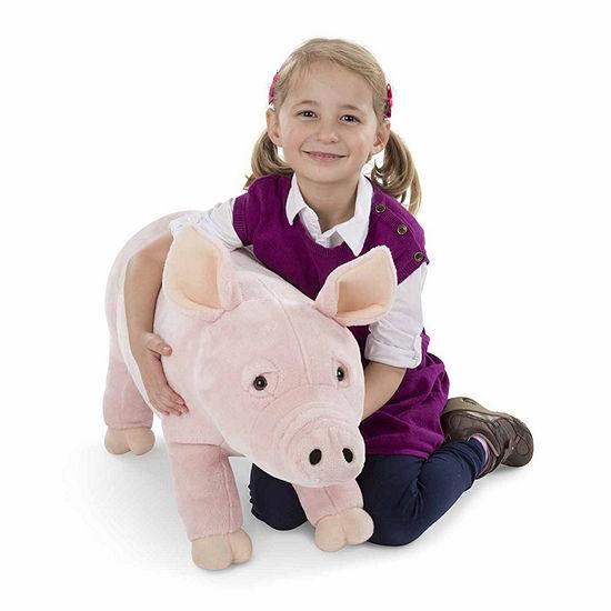 Melissa & Doug Pig Stuffed Animal