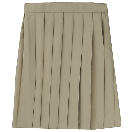 French Toast Woven Pleated Skirt - Girls 4-20 and Plus