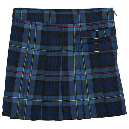 French Toast Plaid Two-Tab Scooter Scooter Skirt Girls