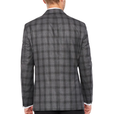 Collection by Michael Strahan  Classic Fit Woven Plaid Sport Coat