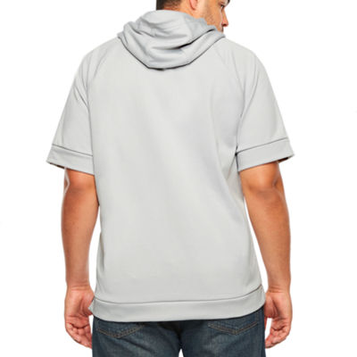 Msx By Michael Strahan Mens Short Sleeve Hooded Hoodie-Big and Tall
