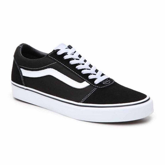 mens vans shoes white