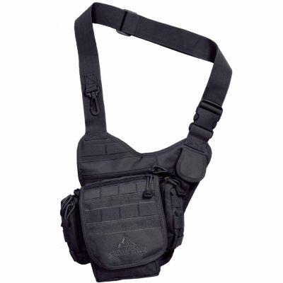 Red Rock Outdoor Gear Nomad Sling Bag - Black