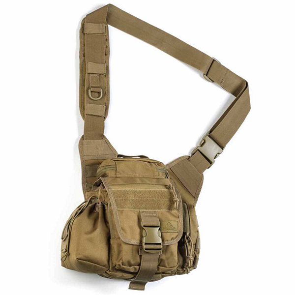 Red Rock Outdoor Gear Hipster Sling Bag - Coyote