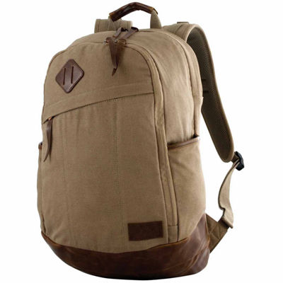 Red Rock Outdoor Gear Austin Backpack - Khaki Canvas