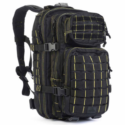 Red Rock Outdoor Gear Rebel Assault Pack - Black w/Yellow Stitching