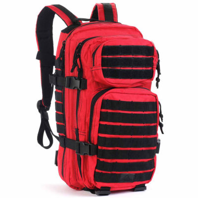 Red Rock Outdoor Gear Rebel Assault Pack - Red w/Black Webbing