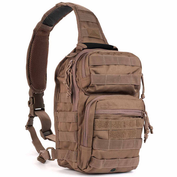 Red Rock Outdoor Gear Rover Sling Pack - Dark Earth