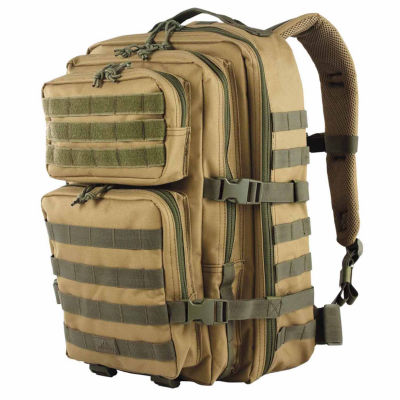 Red Rock Outdoor Gear Large Rebel Assault Pack Coyote w/Olive Webbing