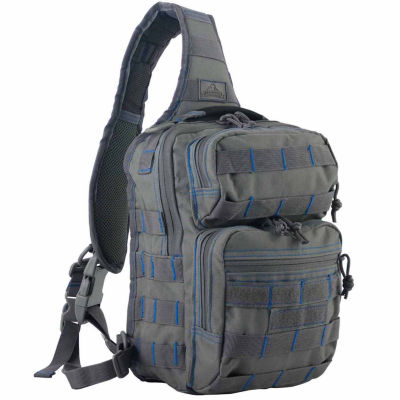 Red Rock Outdoor Gear Rover Sling Pack - Tornado w/Royal Blue Stitching