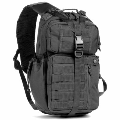 Red Rock Outdoor Gear Rambler Sling Backpack - Black