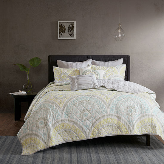Urban Habitat Nicolette Cotton Percale 7-pc. Coverlet Set