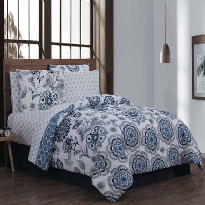 Avondale Manor Cobie 8-pc. Complete Bedding Set with Sheets