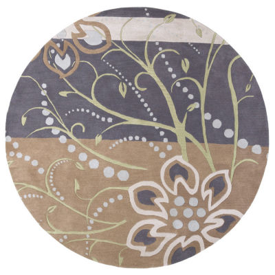 Decor 140 Alocasia Hand Tufted Round Rugs