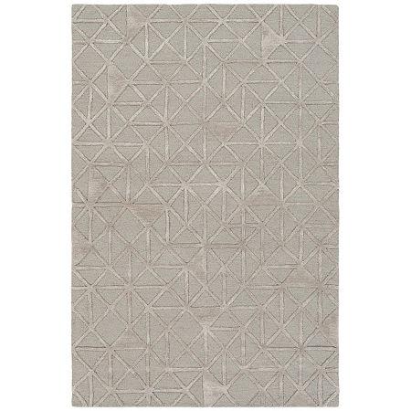 Decor 140 Valentin Hand Tufted Rectangular Indoor Rugs, One Size , Gray