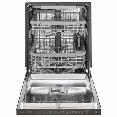 LG ENERGY STAR® Smart Wi-Fi Enabled Top Control Dishwasher with QuadWash™ and Third Rack